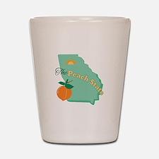 Peach State Shot Glass