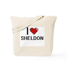 I Love Sheldon Tote Bag