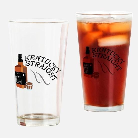 Straight Kentucky Drinking Glass