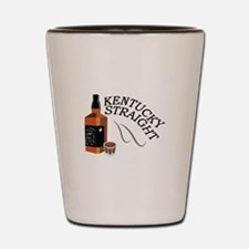 Straight Kentucky Shot Glass