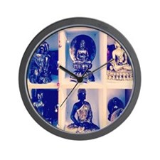 Cool Pray for peace Wall Clock