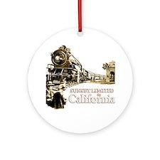 To California... Ornament (Round)