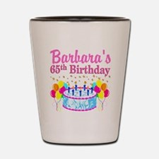 CELEBRATE 65 Shot Glass