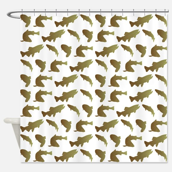 ALL-OVER PRINT Shower Curtain
