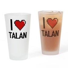 Cute Talan Drinking Glass