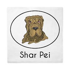Shar Pei Queen Duvet