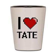 Funny Tate Shot Glass