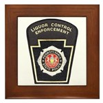 Pennsylvania Liquor Control Framed Tile