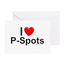 P-Spots Greeting Card