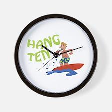 Hang Ten Wall Clock