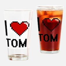 Cute Tom rocks Drinking Glass