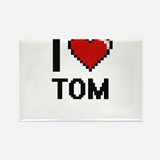 I Love Tom Magnets
