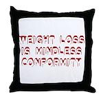 Mindless Conformity Throw Pillow