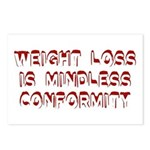 Mindless Conformity Postcards (Package of 8)