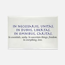 In Everything, Love Rectangle Magnet