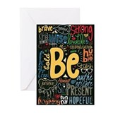 Inspirational quotes Greeting Cards (20 Pack)