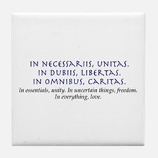 In Everything, Love Tile Coaster