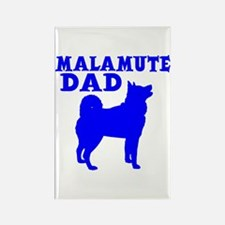MALAMUTE DAD Rectangle Magnet