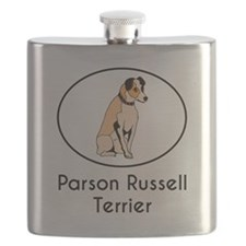 Parson Russell Terrier Flask