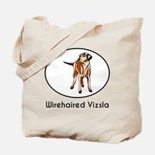 Wirehaired Vizsla Tote Bag