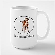 Wirehaired Vizsla Mugs