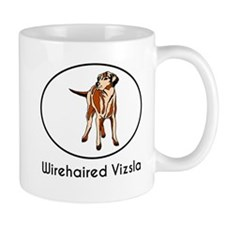 Wirehaired Vizsla Mugs