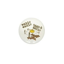 Bacon and Eggs Mini Button (10 pack)
