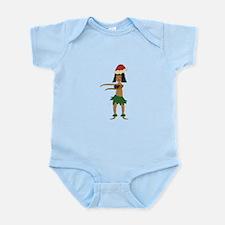 Christmas Hula Girl Body Suit