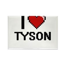 I Love Tyson Magnets