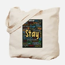 Cool Stay strong Tote Bag