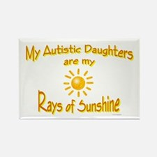 Rays Of Sunshine (Daughters) Rectangle Magnet (10