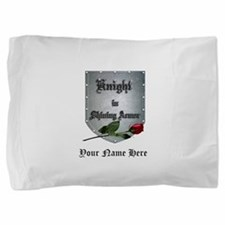 Knight In Shining Armor Rose Pillow Sham