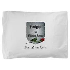 Knight In Shining Armor Rose Pillow Sham
