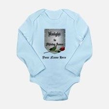 Knight In Shining Armor Rose Personalize Body Suit