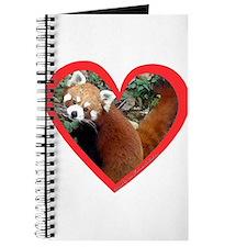 Red Panda Heart Journal