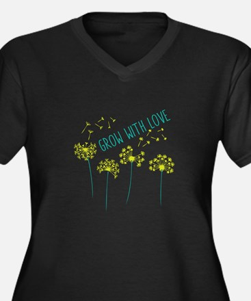 Grow With Love Plus Size T-Shirt