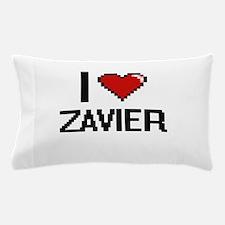 I Love Zavier Pillow Case