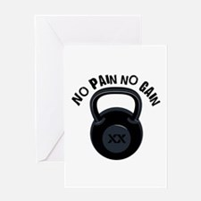 No Pain Greeting Cards