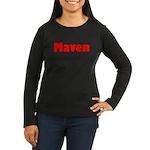 Maven Women's Long Sleeve Dark T-Shirt