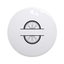 Bicycle Wheel Ornament (Round)