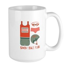 Swim Bike Run Mugs