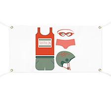 Triathlon Equipment Banner