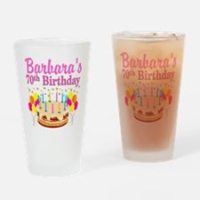CELEBRATE 70 Drinking Glass