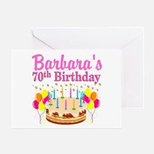 CELEBRATE 70 Greeting Card