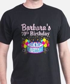 70TH PARTY GIRL T-Shirt