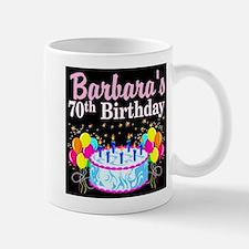 70TH PARTY GIRL Small Small Mug