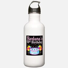 70TH PARTY GIRL Water Bottle