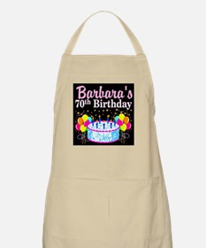 70TH PARTY GIRL Apron