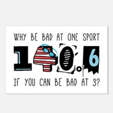 Why Be Bad Postcards (Package of 8)