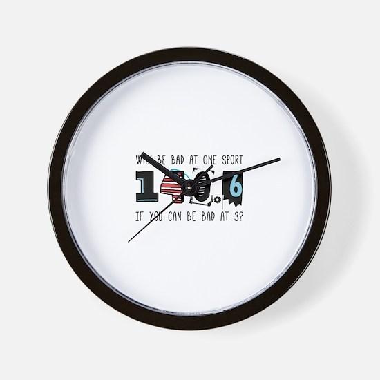 Why Be Bad Wall Clock